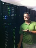 Dan at Baltimore Datacenter