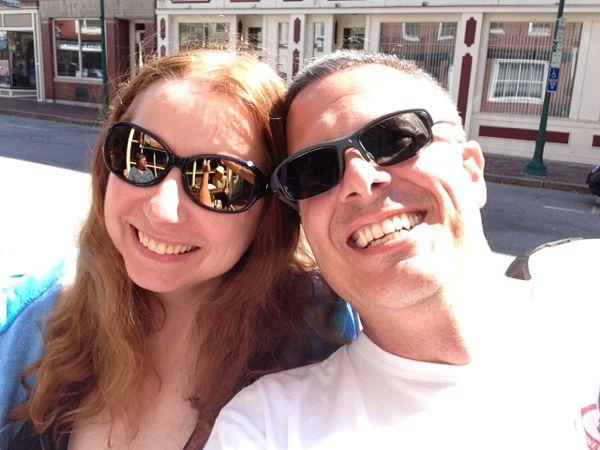 Linda and Dan