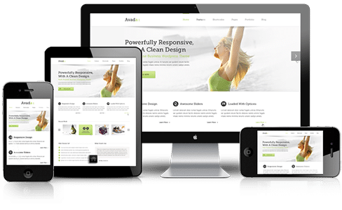 responsive website builder