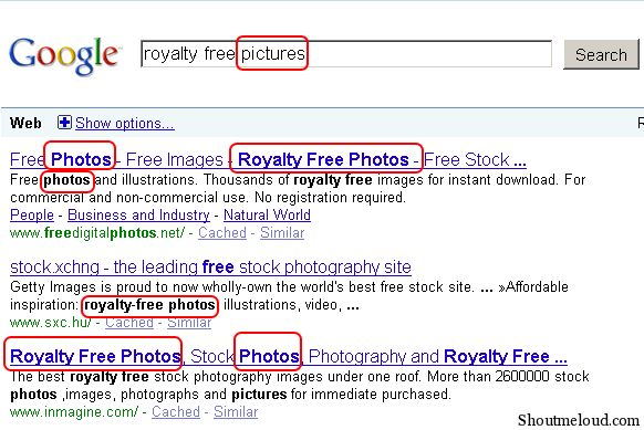 Using Synonyms in your SEO Efforts
