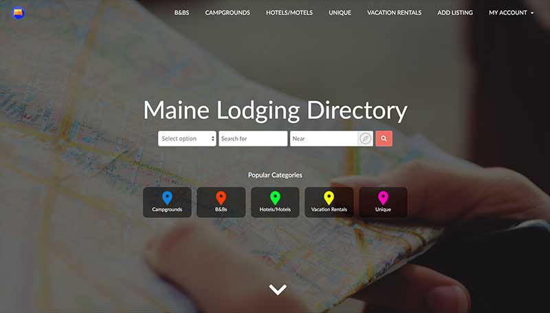 Maine Lodging Directory