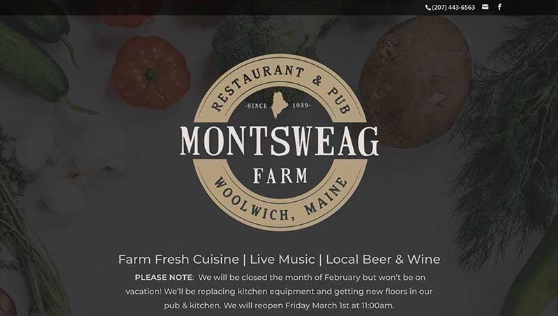 montseag farm restaurant