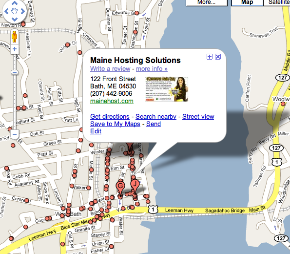How to get Geo Listings on Google Maps